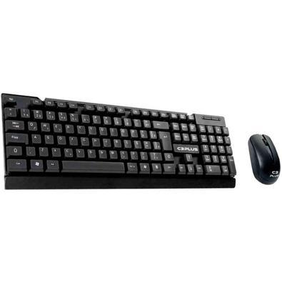 Kit Teclado e Mouse K-w11bk C3 Tech