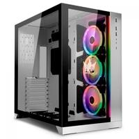 Gabinete Gamer Lian Li PC-O11D Special Edition Galax HOF, Full Tower, Lateral em Vidro, Branco/Prata - PC-O11 DYNAMIC WHITE HOF