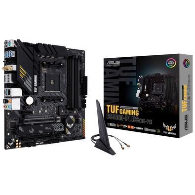 Placa-Mãe Asus TUF Gaming B550M-Plus (Wi-Fi), AMD AM4, mATX, DDR4