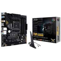 Placa-Mãe Asus TUF Gaming B550M-Plus (Wi-Fi), AMD AM4, mATX, DDR4