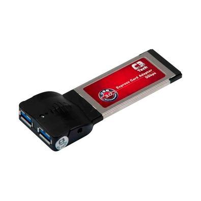 Adaptador Express Card C3Tech, 2 Portas USB 3.0 - 418030010100