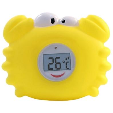Termômetro Digital para Banho Incoterm, Caranguejo Amarelo - 7659.09.1.00
