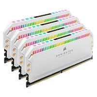 Memória Corsair Dominator Platinum 32GB (4x8GB), 3600Mhz, DDR4, C18, Branca - CMT32GX4M4C3600C18W