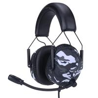 Headset Gamer Husky Tactical, 7.1 Som Surround, Drivers 2x 30mm + 2x 40mm, Surround 7.1, Urban - HS-TTC-UB