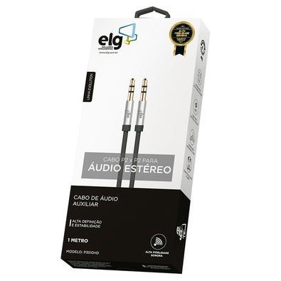 Cabo de Áudio P2 x P2 ELG, 1 metro - P3510HD
