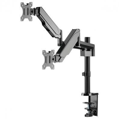 Suporte a Gás para 2 Monitores, PCYes, Articulado - 31593