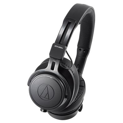 Headphone Profissional Audio-Technica, com Case, Preto - ATH-M60X