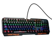 Teclado Mecânico Gamer ELG Shooter, LED Rainbow, Switch Cherry Blue, US - TGMS