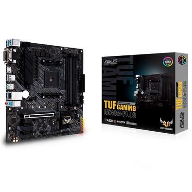 Placa-Mãe Asus TUF Gaming A520M-Plus, AMD AM4, mATX, DDR4