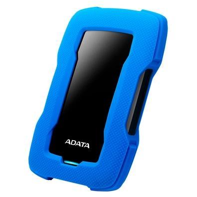 HD Externo Adata HD330 Anti-Queda, 2TB, USB 3.2 Gen 1, Azul - AHD330-2TU31-CBL
