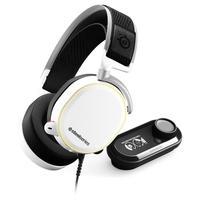 Headset Gamer Steelseries Arctis Pro, RGB, 7.1 Som Surround, Drivers 40mm, Branco + GameDAC Hi-Res - 61454