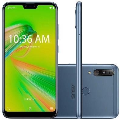 Celular Smartphone Asus Zenfone Shot Plus Zb634kl 128gb Azul - Dual Chip