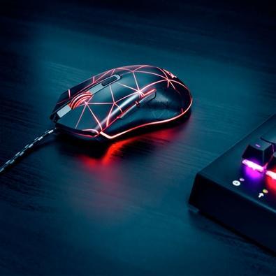 Mouse Gamer Trust GXT 133 Lock Illuminated, LED, 6 Botões, 4000DPI - 22988
