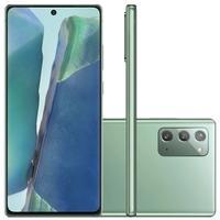 Smartphone Samsung Galaxy Note20, 256GB, 64MP, Tela 6.7´, Mystic Green - SM-N981BZGSZTO