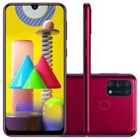 Smartphone Samsung Galaxy M31, 128GB, 64MP, Tela 6.4´, Rosa - SM-M315FZRSZTO