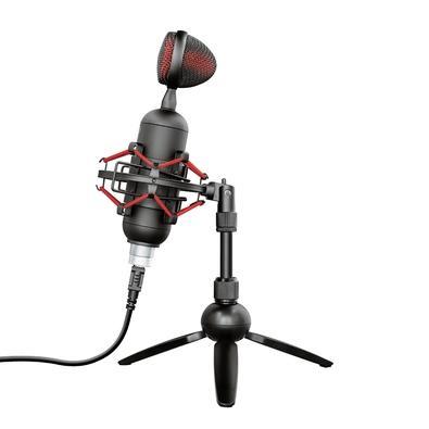 Microfone Streamer Trust Gaming GXT 244 Buzz, USB - 23466