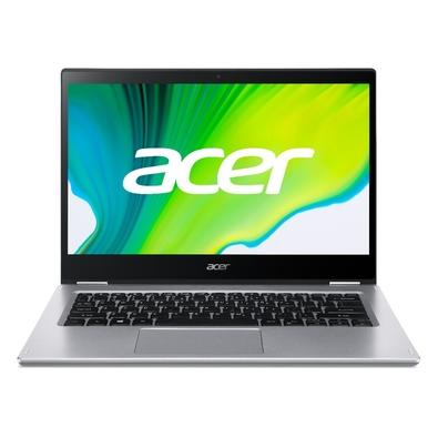"Notebook - Acer Sp314-54n-543c I5-1035g1 1.00ghz 8gb 512gb Ssd Intel Hd Graphics Windows 10 Home Spin 3 14"" Polegadas"