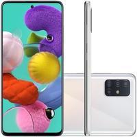 Smartphone Samsung Galaxy A51, 128GB, 48MP, Tela 6.5´, Branco - SM-A515FZWRZTO