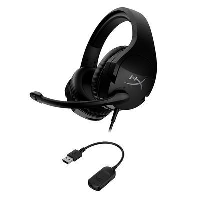 Headset Gamer HyperX Cloud Stinger S, Som Surround 7.1, Drivers 50mm, USB e P3 - HHSS1S-AA-BK/G