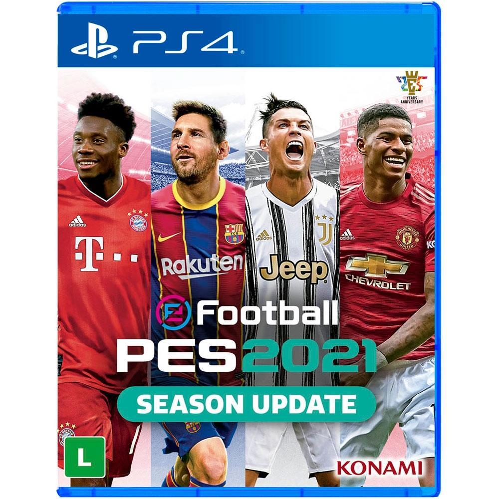 Jogo EFootball PES 2021 - PS4