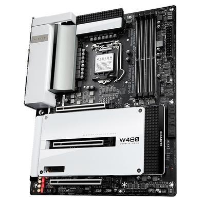 Placa Mãe Gigabyte W480 VISION D, Intel LGA1200, DDR4