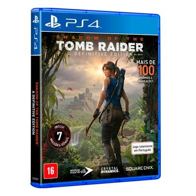 Game Shadow of Tomb Raider - A Definitive Edition PS4 - SE000204PS4