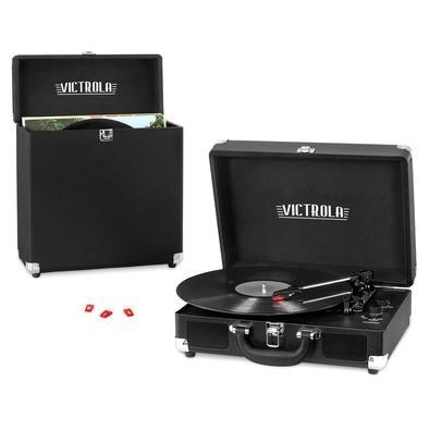 Toca Discos Victrola Vintage, Bluetooth, Com Case - VSC-52BT