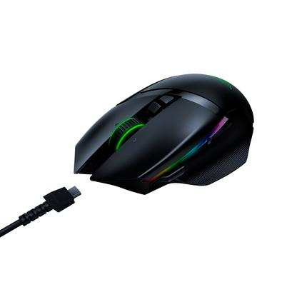 Mouse Sem Fio Gamer Razer Basilisk Ultimate, Chroma, sem Dock, Optical Switch, 11 Botões, 20000DPI - RZ01-03170200-R3U1