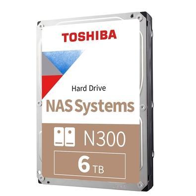 HD Toshiba N300, NAS, 6TB, 3.5´, Sata - HDWG160XZSTA