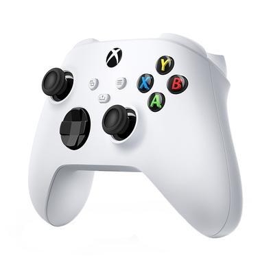 Controle Microsoft XBox, Sem Fio, Branco - QAS-00007