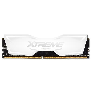 Memória OCPC XT, 16GB, 3000MHz, DDR4, CL16, White - MMX16GD430C16UW