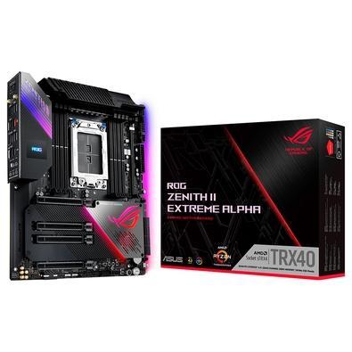 Placa-Mãe Asus ROG Zenith II Extreme Alpha, AMD TRX40, E-ATX, DDR4, ARGB