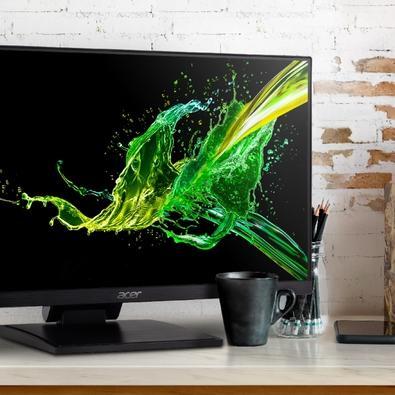 Monitor Acer UT241Y Touch 23.8´, Full HD, HDMI/VGA/Audio, 75 Hz - UM.QW1AA.003