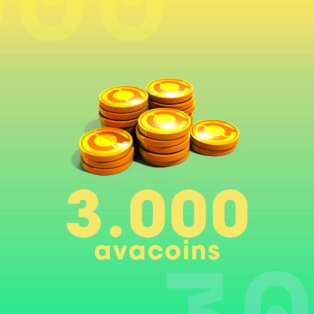 Gift Card Moeda para Jogo Avakin Life: 3.000 Avacoins - Produto Digital