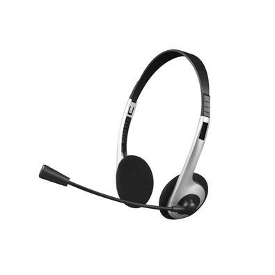 Headset C3Plus, P2, com Controlador de Volume, Prata - PH-01SI