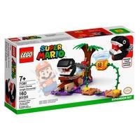LEGO Super Mario - Confronto na Selva com Chomp Chomp, Pacote de Expansão, 160 Peças - 71381