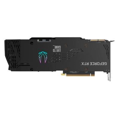 Placa de Vídeo ZOTAC GAMING GeForce RTX 3090 Trinity OC, 19.5 Gbps, 24GB, GDDR6X, Ray Tracing, RGB - ZT-A30900J-10P