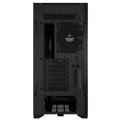 Gabinete Gamer Corsair 5000D, Mid Tower, 2x FANs, Lateral em Vidro Temperado, Preto - CC-9011208-WW