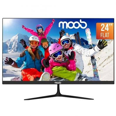 Monitor Gamer LED 24'' Full HD MOOB, 2ms, 75Hz, Widescreen