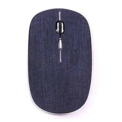 Mouse Oex Twill Bluetooth e Wireless, 1600dpi, Azul - MS600