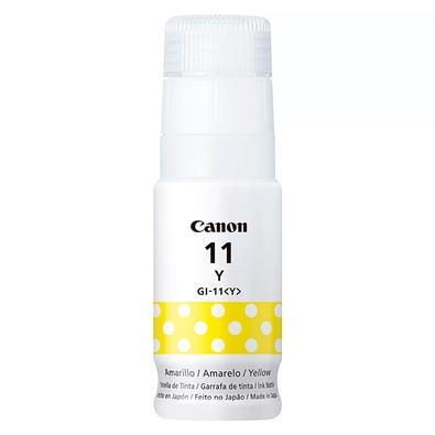 Refil de Tinta Canon GI-11, Amarelo, 70ml - 4536C001AA