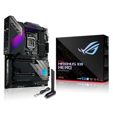 Placa Mãe Asus ROG MAXIMUS XIII HERO, Intel LGA1200, DDR4, ATX, Aura Sync RGB - 90MB15X0-M0EAY0