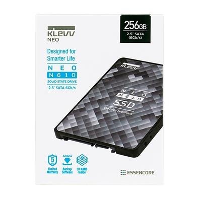 SSD KLEVV NEO N610 256GB, SATA 6Gb/s, 2.5 Polegadas, Leitura 560MB/s e Escrita 520MB/s - K256GSSDS3-N61