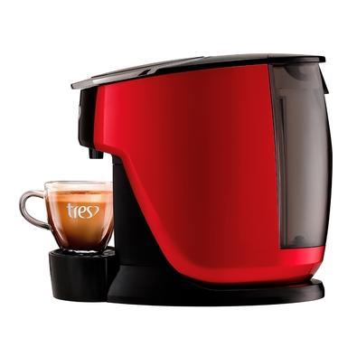 Cafeteira Expresso Corações Touch, com Cápsula de Retrolavagem, 110v, Vermelha, 110V - 20038997