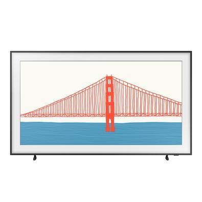 Smart TV Samsung 55´ 4K QLED 55LS03A, Processador IA, HDR10+, Design Slim, Molduras Customizáveis, Modo Arte - QN55LS03AAGXZD