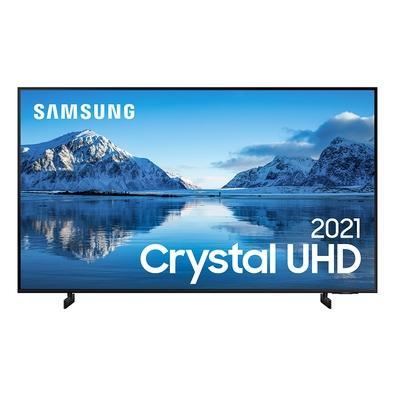 Samsung Smart TV 85´´ Crystal UHD 4K 85AU8000, Dynamic Crystal Color, Borda Infinita, Visual Livre de Cabos, Alexa Built In - UN85AU8000GXZD