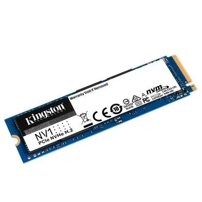 SSD Kingston NV1 500GB,M.2 2280 NVMe, Leitura: 2100MB/s e Gravação: 1700MB/s - SNVS/500G