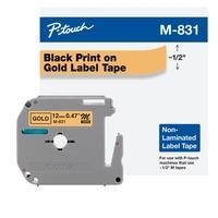 Fita Brother M831 12mm, Compatível com PT70, PT70BM e PT80, Ouro