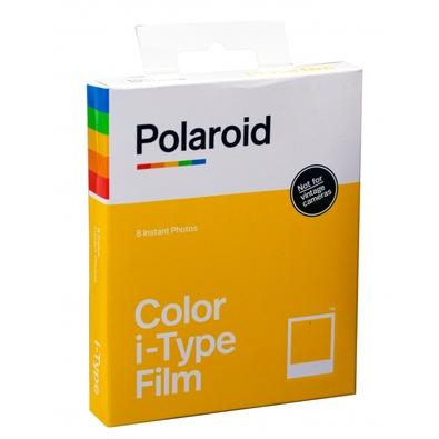 Filme Instantâneo Polaroid Color I-Type para 8 Fotos - 6000