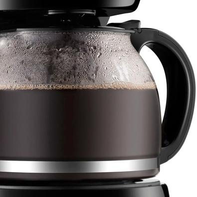 Cafeteira Elétrica Mondial Dolce Arome Inox, até 32 Xícaras, com Jarra em Vidro e Indicador de Nível de Água, 220V - C-32 32X